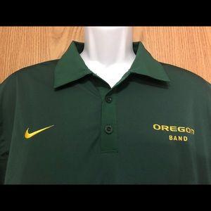 Nike Shirts - Oregon Ducks polo shirt men's size Large green EUC